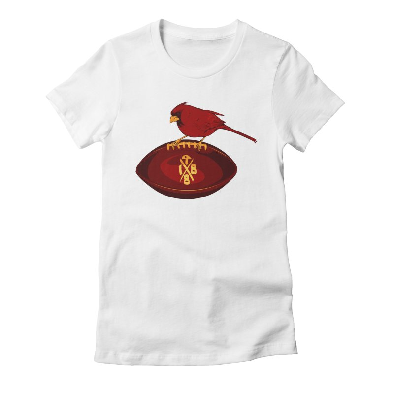 1988 Cardinal Women's Fitted T-Shirt by Dark Wing Shop