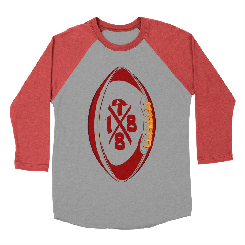 1988 Ball Men's Baseball Triblend T-Shirt by Dark Wing Shop