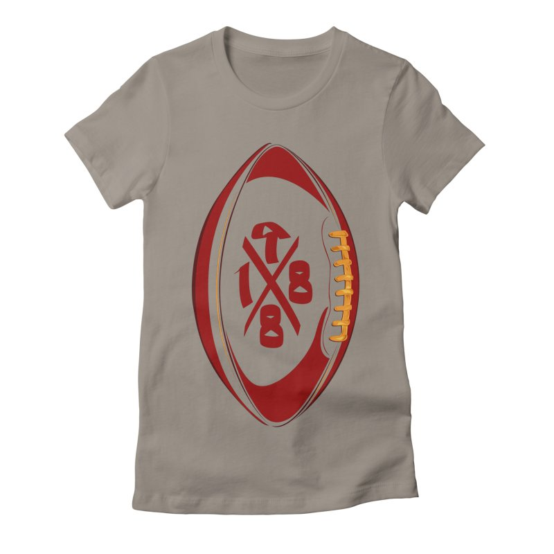 1988 Ball Women's Fitted T-Shirt by Dark Wing Shop