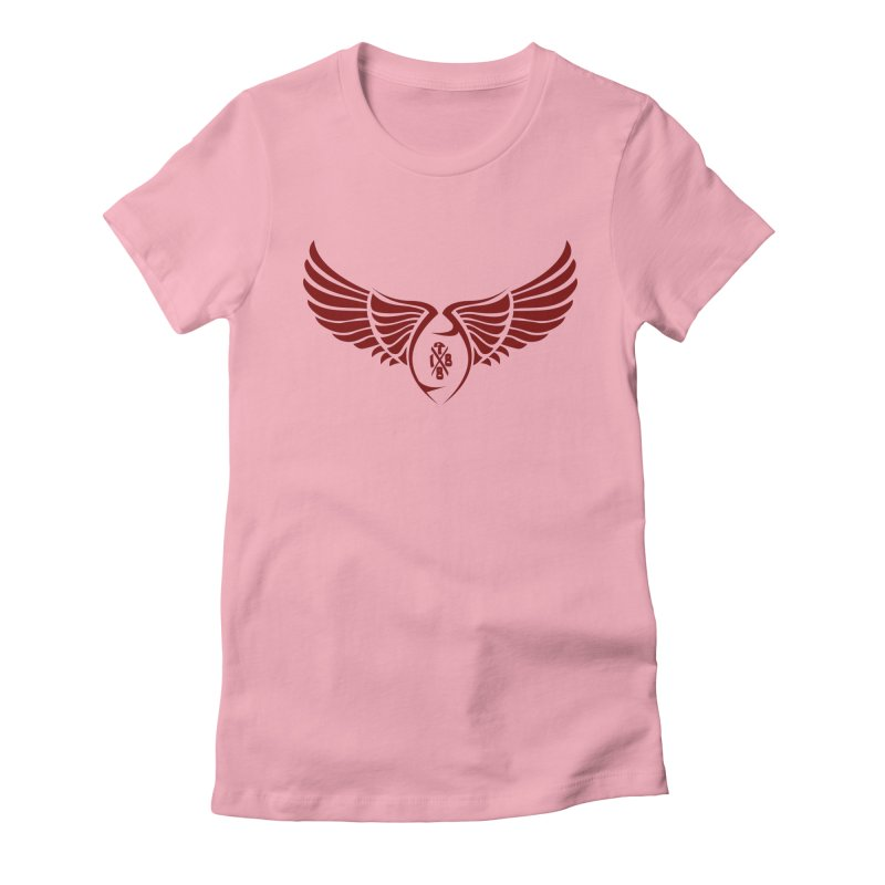 1988 Wings Women's Fitted T-Shirt by Dark Wing Shop