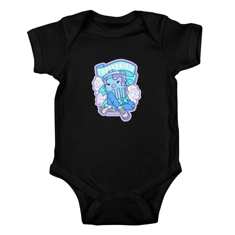 Trashanista Kids Baby Bodysuit by Darling Homebody