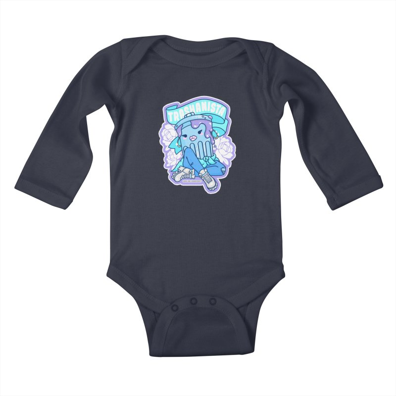 Trashanista Kids Baby Longsleeve Bodysuit by Darling Homebody