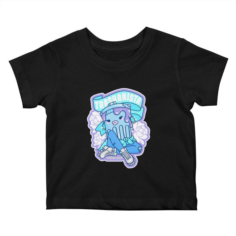 Trashanista Kids Baby T-Shirt by Darling Homebody
