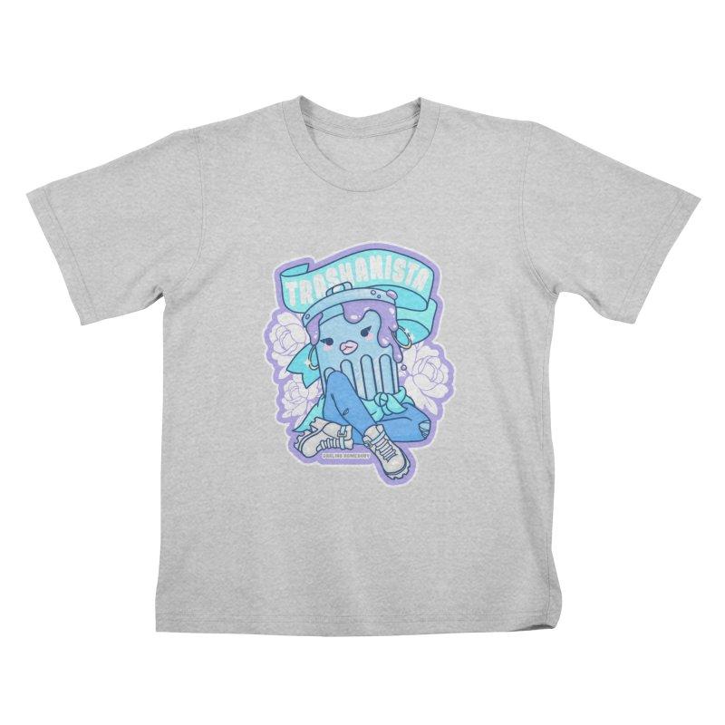 Trashanista Kids T-Shirt by Darling Homebody