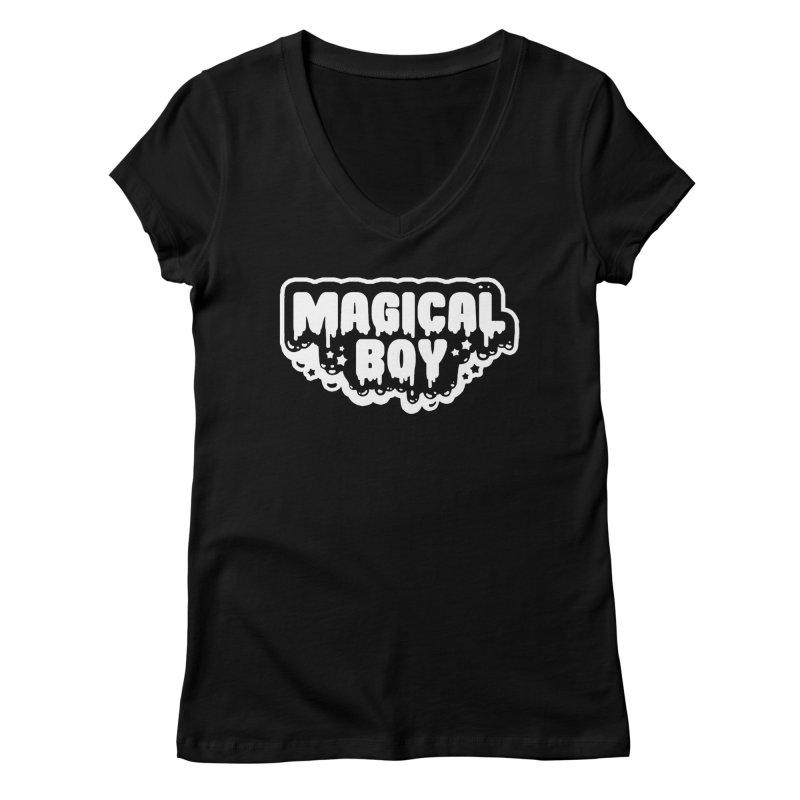 Magical Boy Women's V-Neck by Darling Homebody