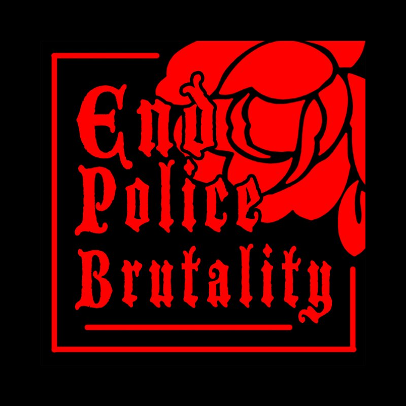 For Charity - End Police Brutality Women's V-Neck by Darling Homebody