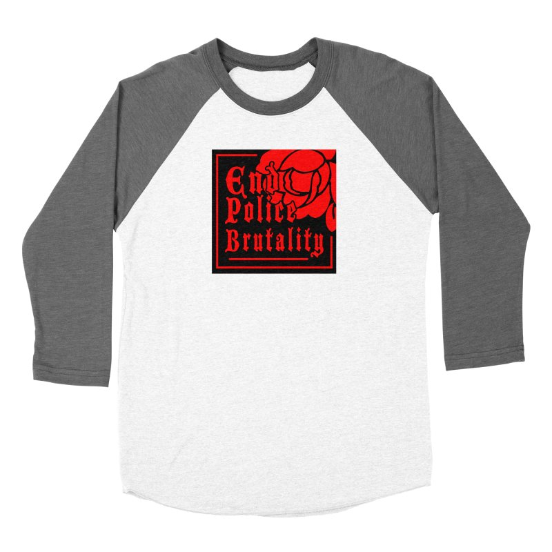 For Charity - End Police Brutality Women's Longsleeve T-Shirt by Darling Homebody