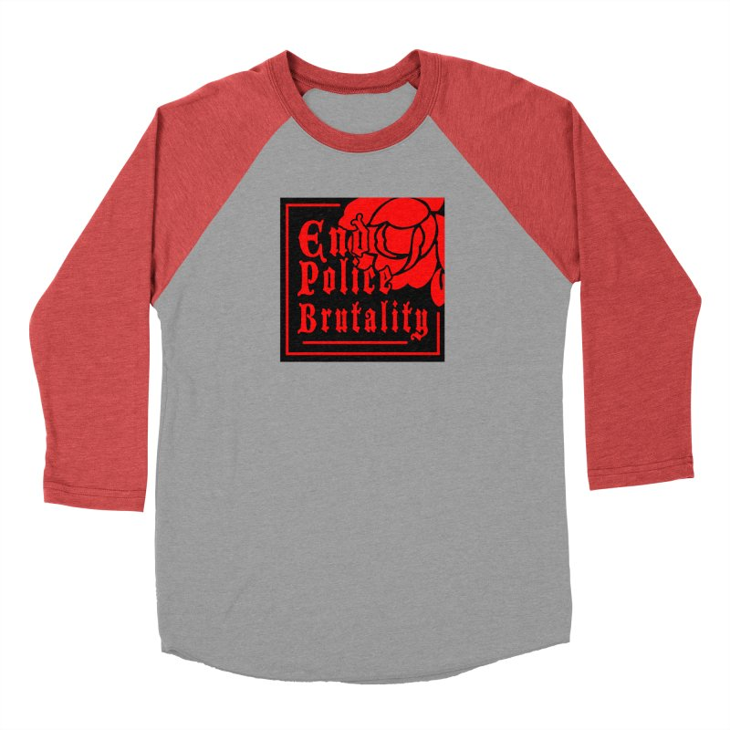 For Charity - End Police Brutality Men's Longsleeve T-Shirt by Darling Homebody