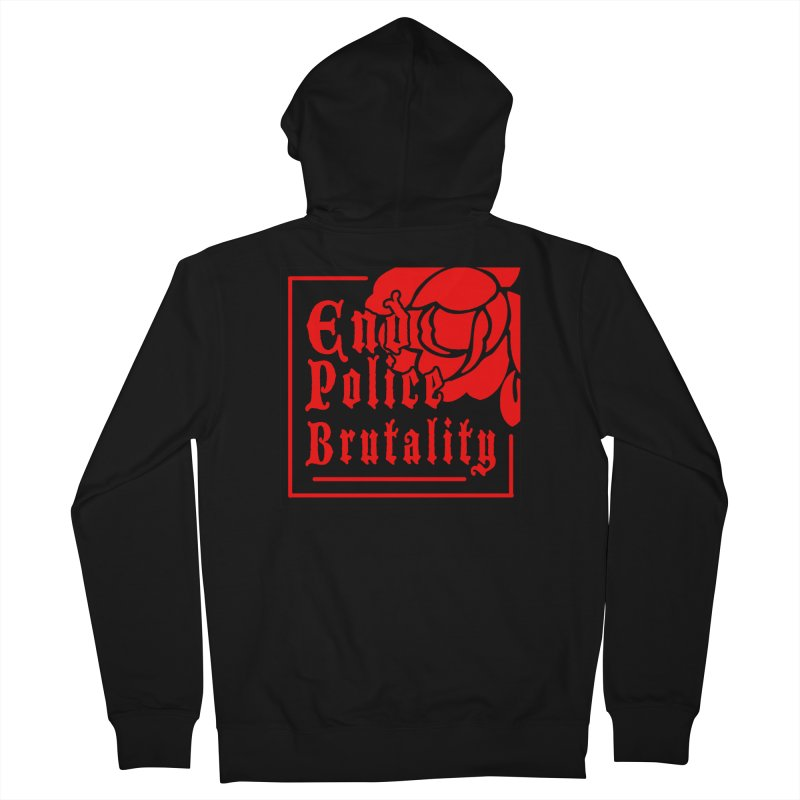 For Charity - End Police Brutality Men's Zip-Up Hoody by Darling Homebody