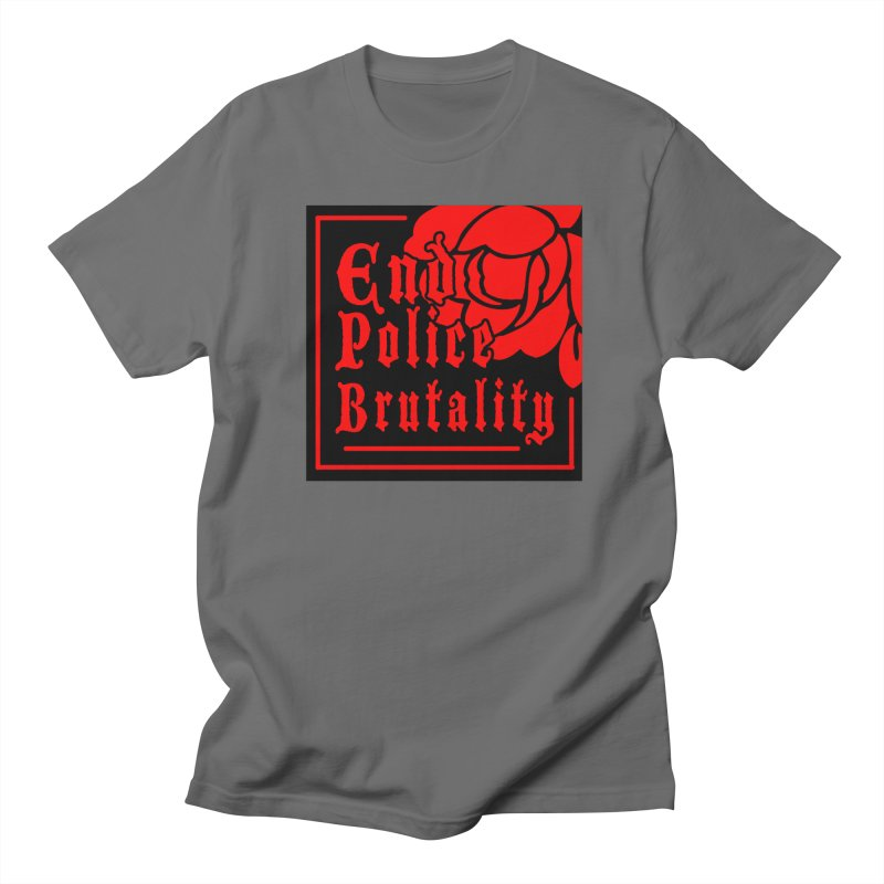 For Charity - End Police Brutality Men's T-Shirt by Darling Homebody