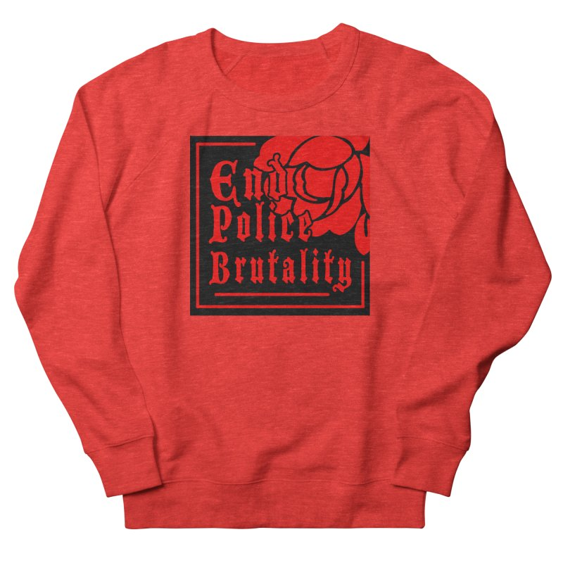 For Charity - End Police Brutality Men's Sweatshirt by Darling Homebody