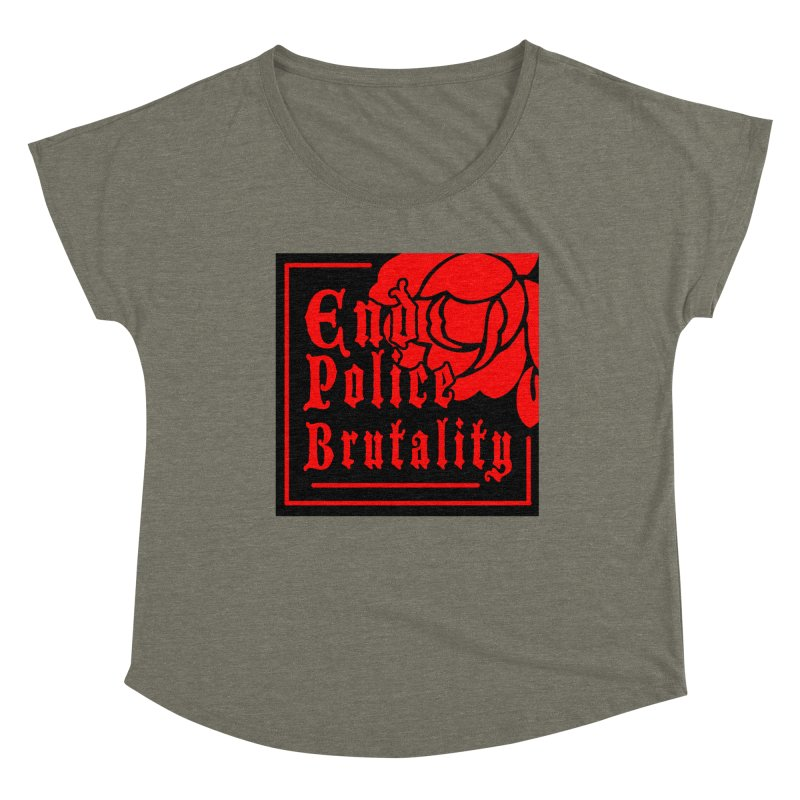 For Charity - End Police Brutality Women's Scoop Neck by Darling Homebody