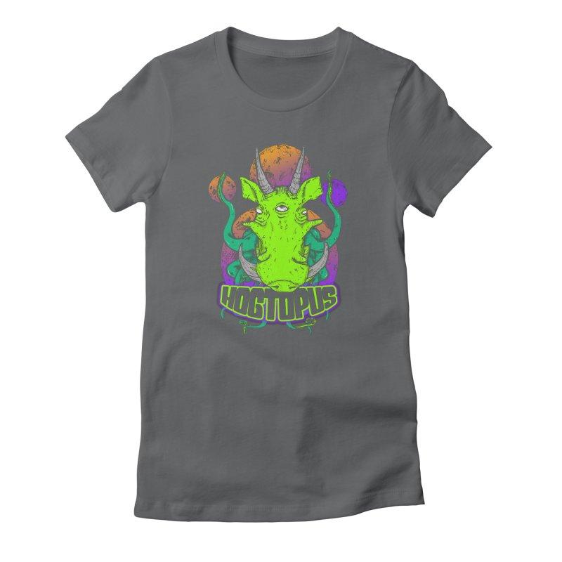 The HOGTOPUS Women's Fitted T-Shirt by darrensaintdarren's Artist Shop