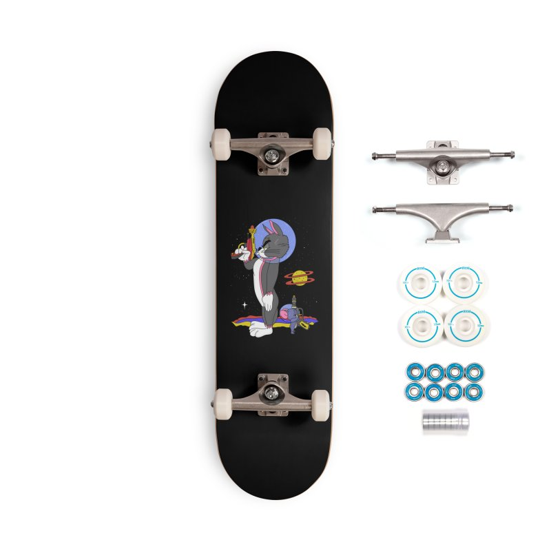 Planetary Rivals Accessories Complete - Basic Skateboard by darruda's Artist Shop