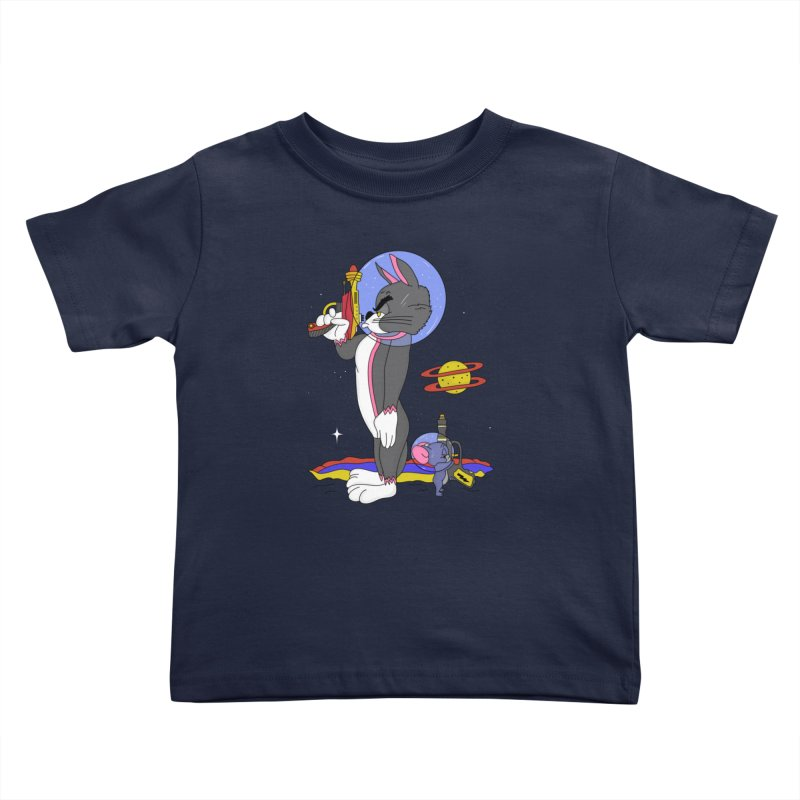 Planetary Rivals Kids Toddler T-Shirt by darruda's Artist Shop