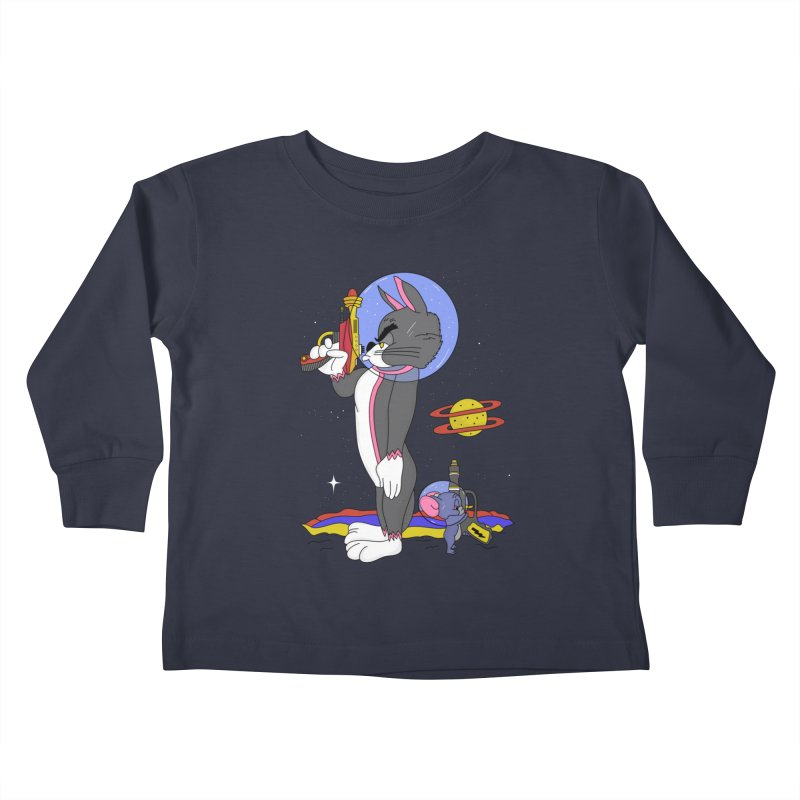 Planetary Rivals Kids Toddler Longsleeve T-Shirt by darruda's Artist Shop