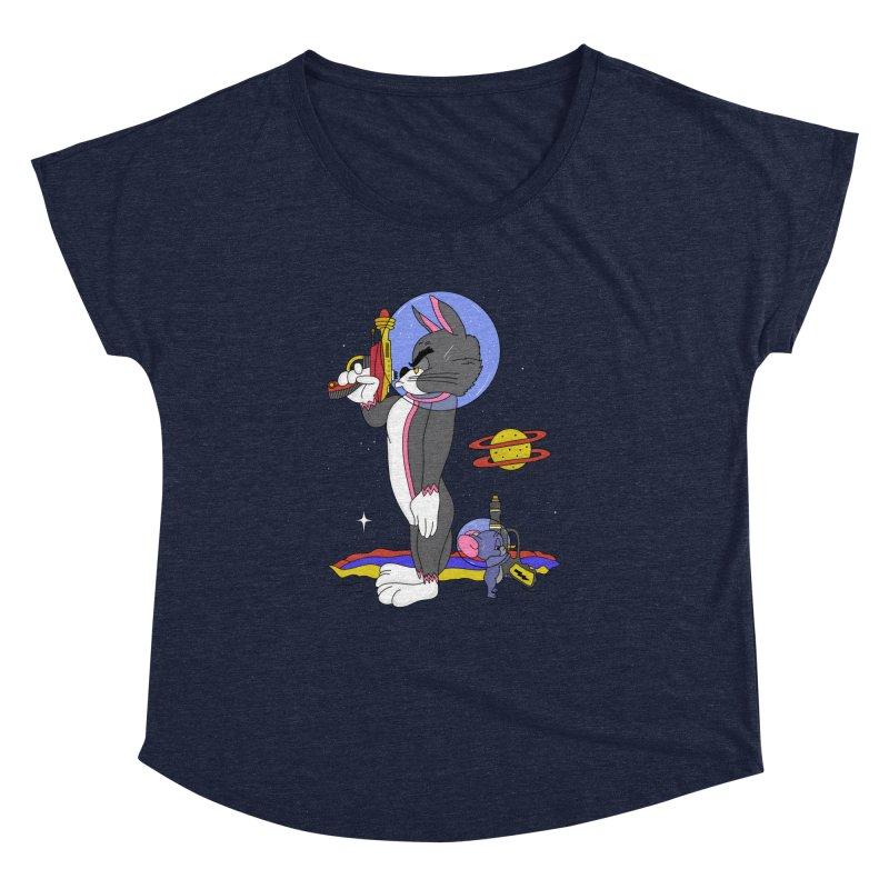 Planetary Rivals Women's Dolman Scoop Neck by darruda's Artist Shop