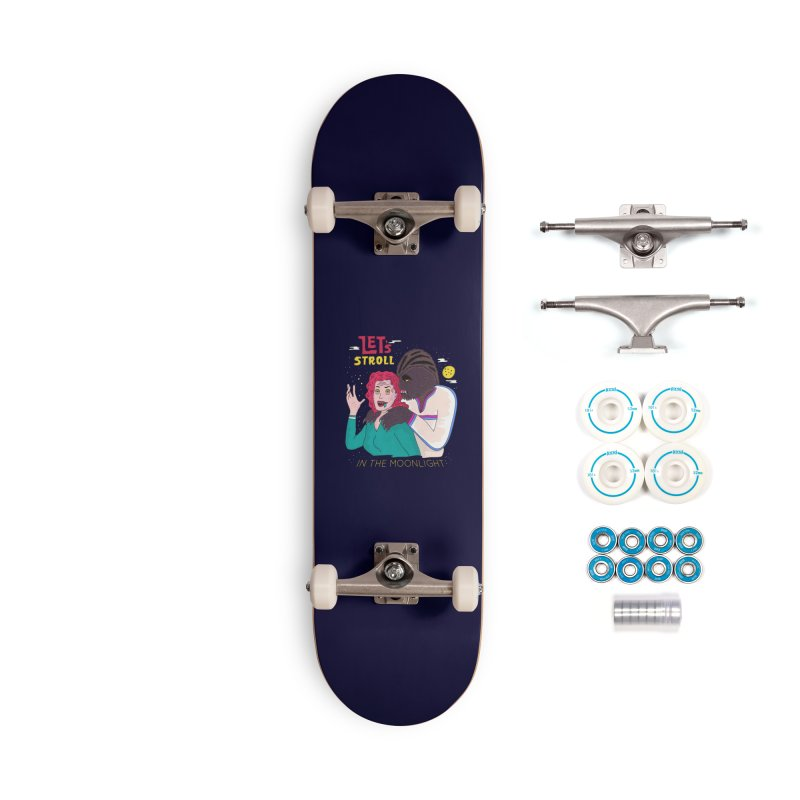 Let's Stroll in the Moonlight Accessories Complete - Basic Skateboard by darruda's Artist Shop
