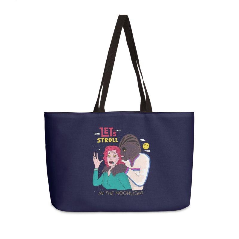 Let's Stroll in the Moonlight Accessories Weekender Bag Bag by darruda's Artist Shop