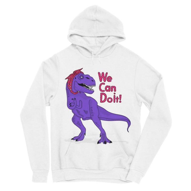 We Can Do it Men's Sponge Fleece Pullover Hoody by darruda's Artist Shop