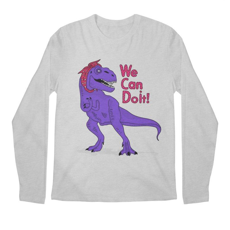 We Can Do it Men's Regular Longsleeve T-Shirt by darruda's Artist Shop