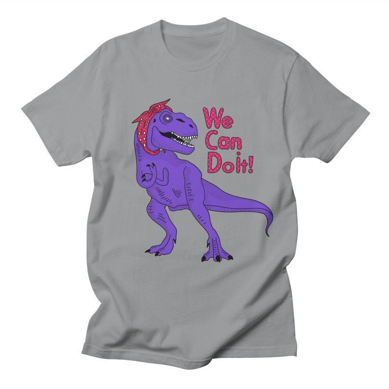 We Can Do it Women's Regular Unisex T-Shirt by darruda's Artist Shop