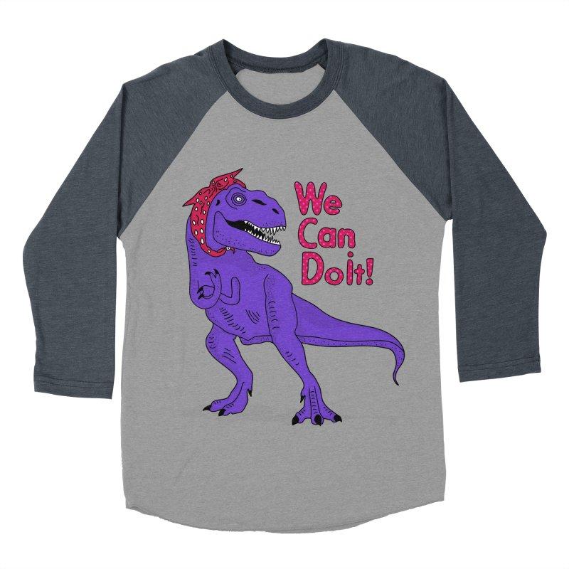 We Can Do it Women's Baseball Triblend Longsleeve T-Shirt by darruda's Artist Shop
