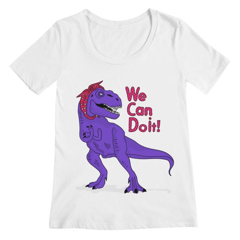 We Can Do it Women's Regular Scoop Neck by darruda's Artist Shop