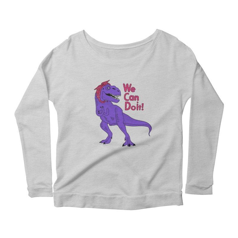 We Can Do it Women's Scoop Neck Longsleeve T-Shirt by darruda's Artist Shop