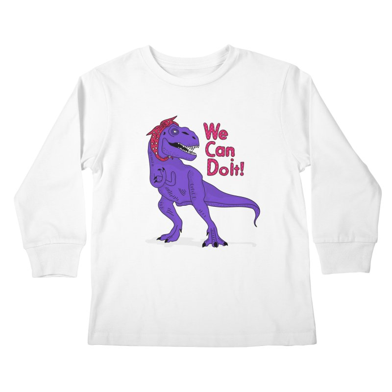 We Can Do it Kids Longsleeve T-Shirt by darruda's Artist Shop