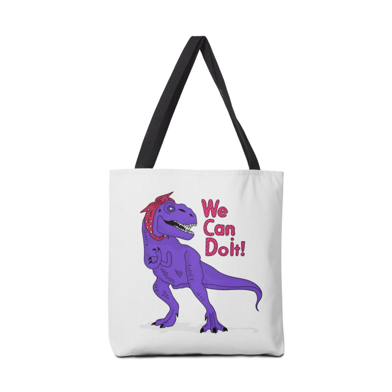 We Can Do it Accessories Tote Bag Bag by darruda's Artist Shop