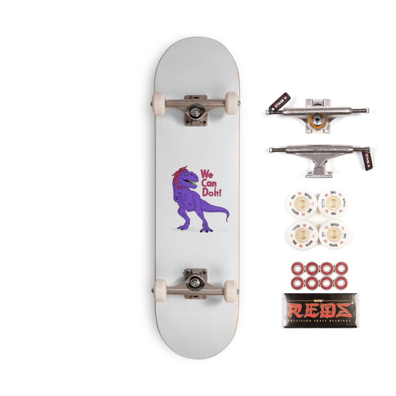 We Can Do it Accessories Complete - Pro Skateboard by darruda's Artist Shop