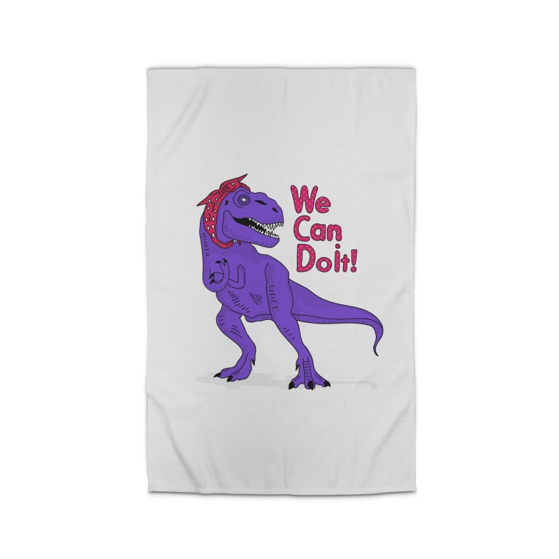 We Can Do it Home Rug by darruda's Artist Shop