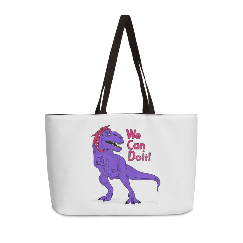 We Can Do it Accessories Weekender Bag Bag by darruda's Artist Shop