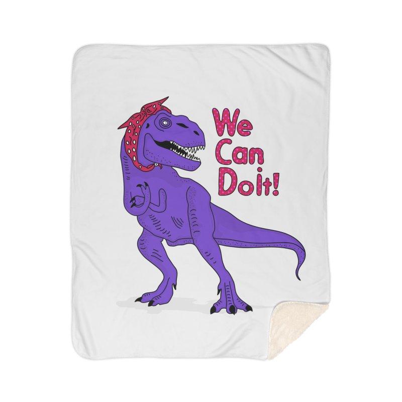 We Can Do it Home Sherpa Blanket Blanket by darruda's Artist Shop