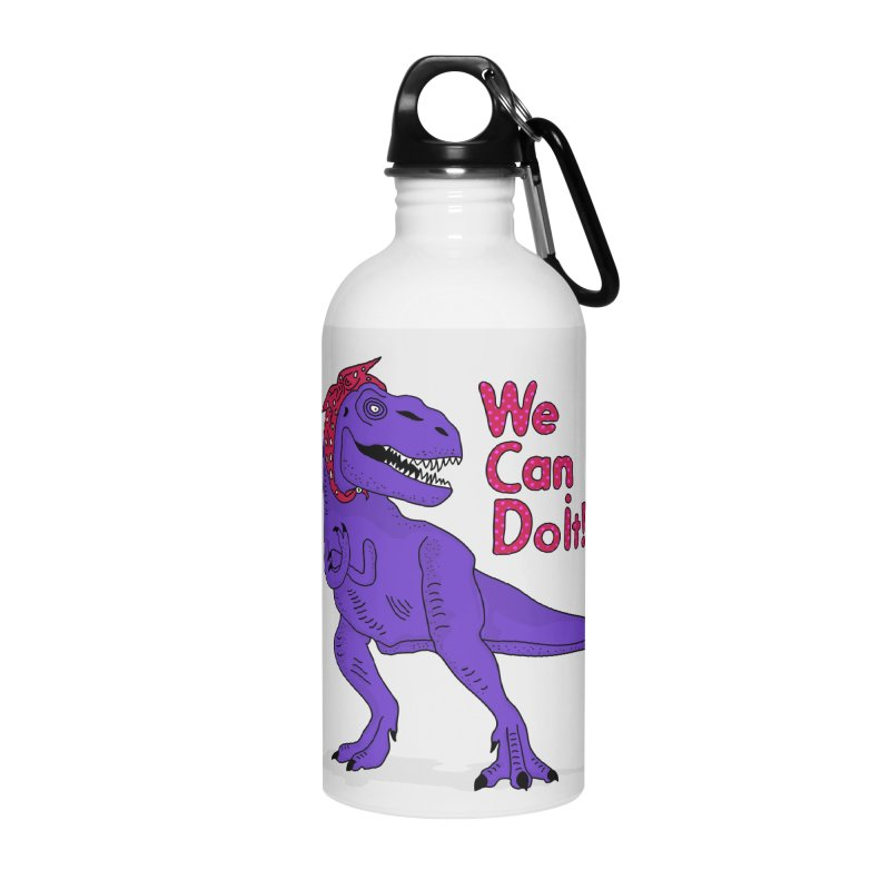 We Can Do it Accessories Water Bottle by darruda's Artist Shop