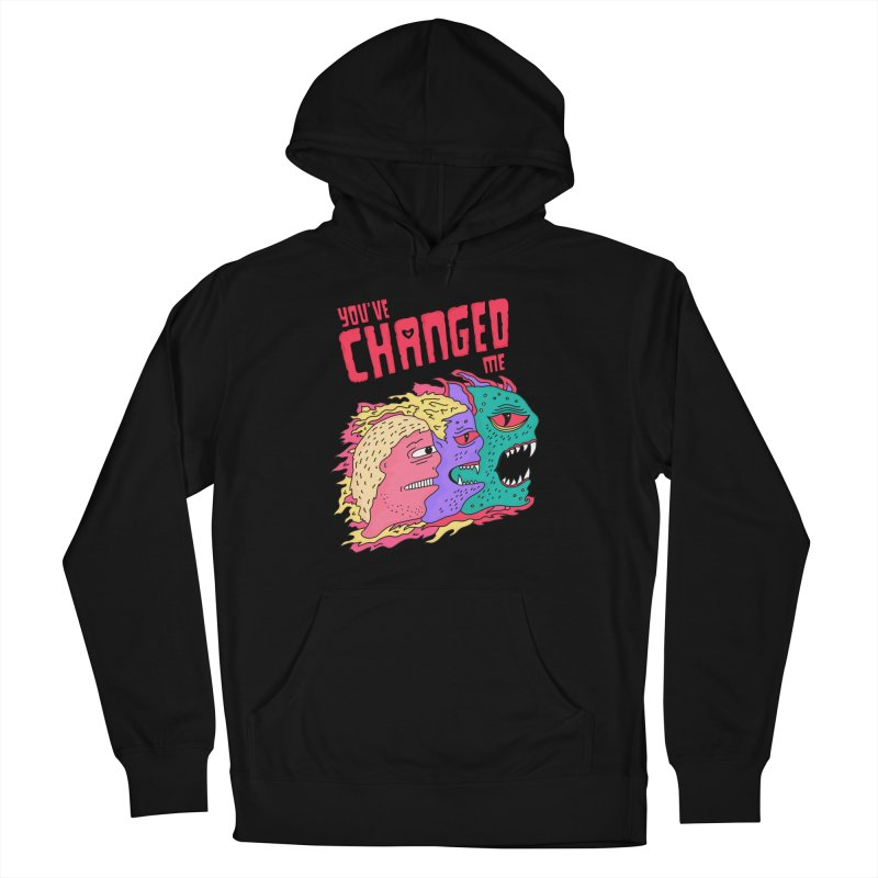 You've Changed Me Men's French Terry Pullover Hoody by darruda's Artist Shop