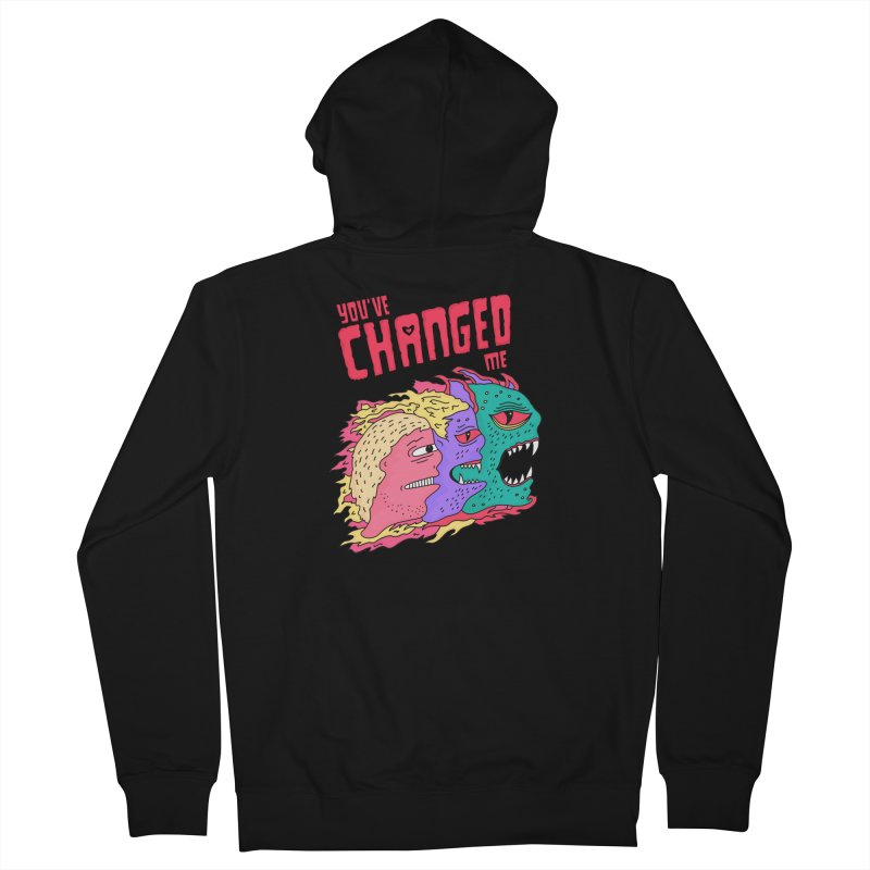 You've Changed Me Women's French Terry Zip-Up Hoody by darruda's Artist Shop