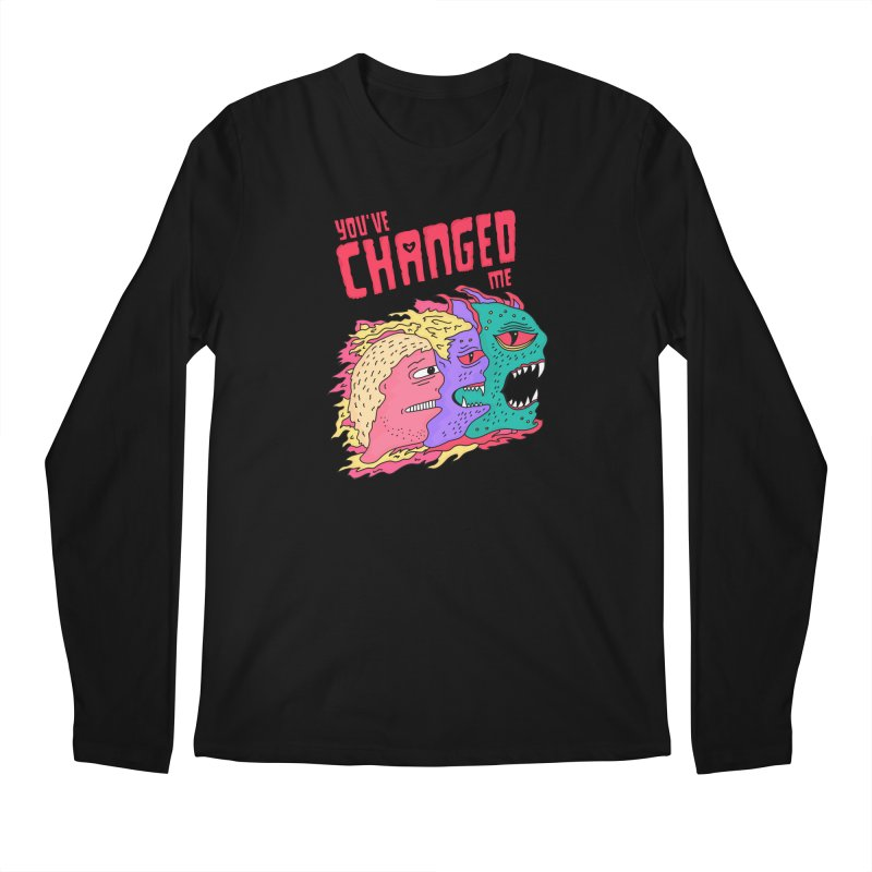 You've Changed Me Men's Regular Longsleeve T-Shirt by darruda's Artist Shop