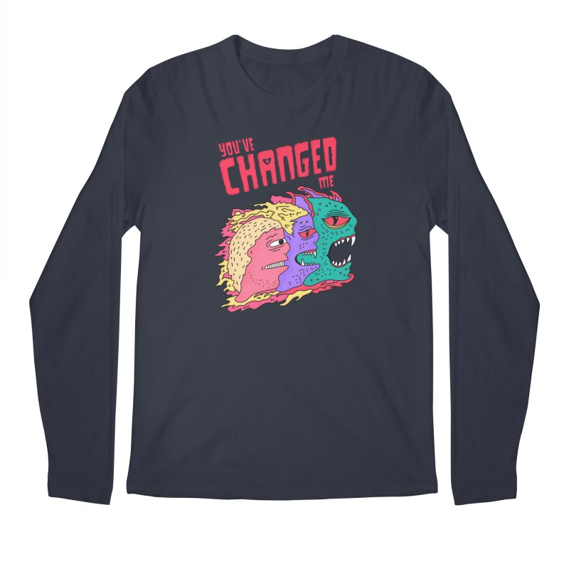 You've Changed Me Men's Regular Longsleeve T-Shirt by darruda's Artist Shop