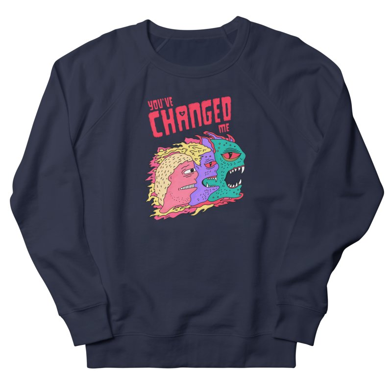 You've Changed Me Men's French Terry Sweatshirt by darruda's Artist Shop