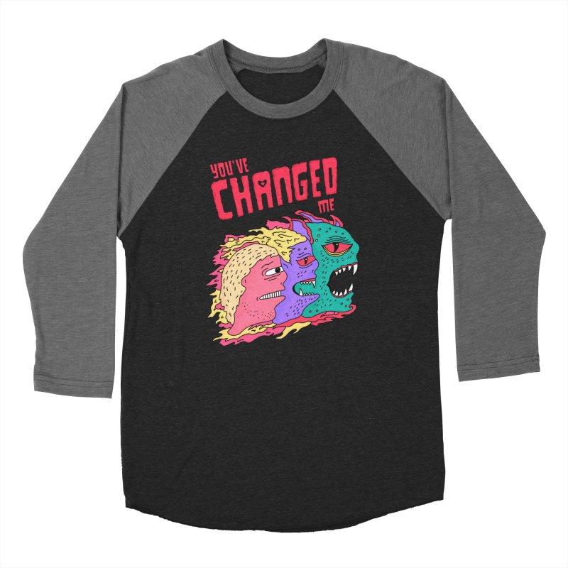 You've Changed Me Men's Baseball Triblend Longsleeve T-Shirt by darruda's Artist Shop