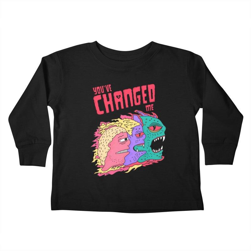 You've Changed Me Kids Toddler Longsleeve T-Shirt by darruda's Artist Shop