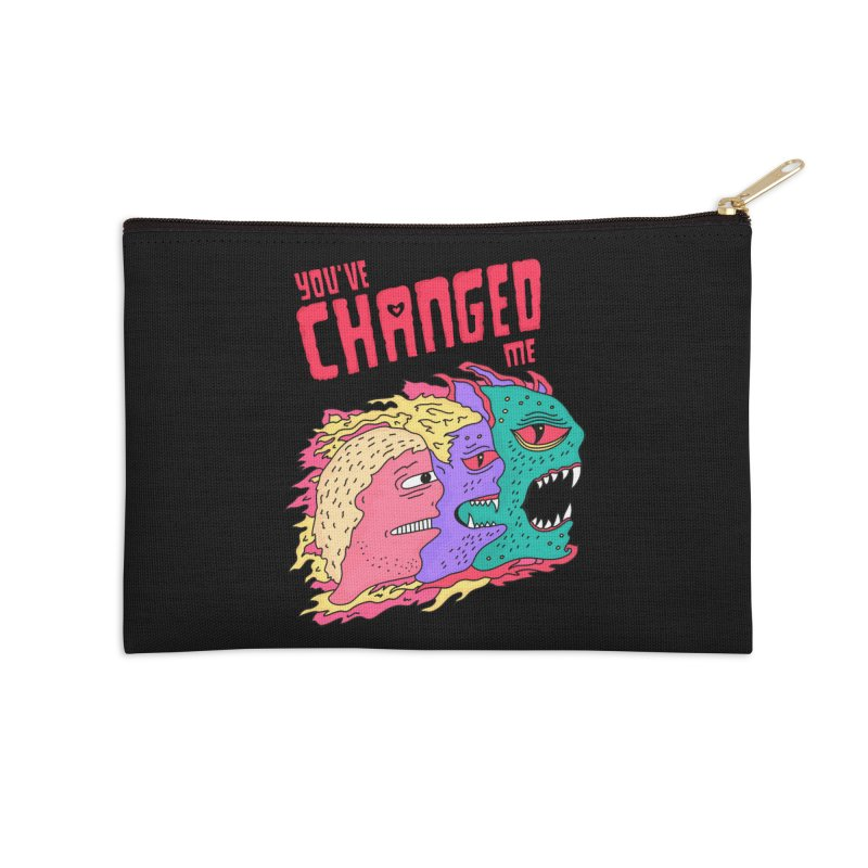 You've Changed Me Accessories Zip Pouch by darruda's Artist Shop