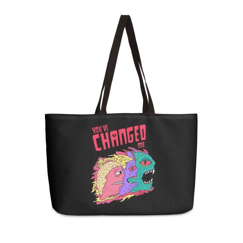 You've Changed Me Accessories Weekender Bag Bag by darruda's Artist Shop