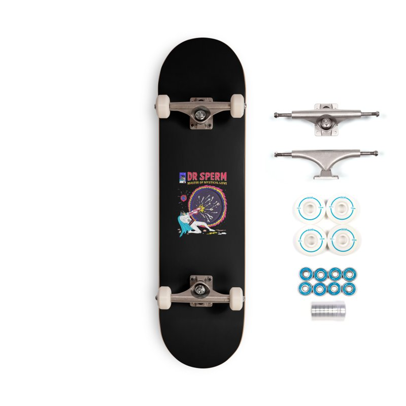 Doctor Sperm Accessories Complete - Basic Skateboard by darruda's Artist Shop