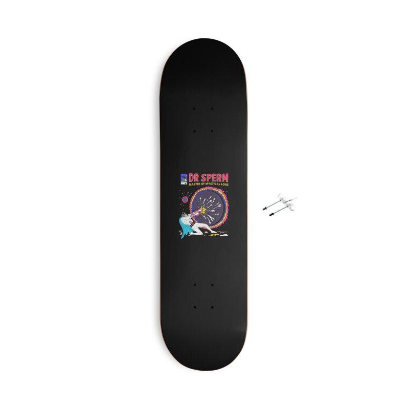 Doctor Sperm Accessories With Hanging Hardware Skateboard by darruda's Artist Shop