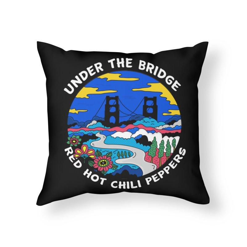 Under The Bridge Home Throw Pillow by darruda's Artist Shop