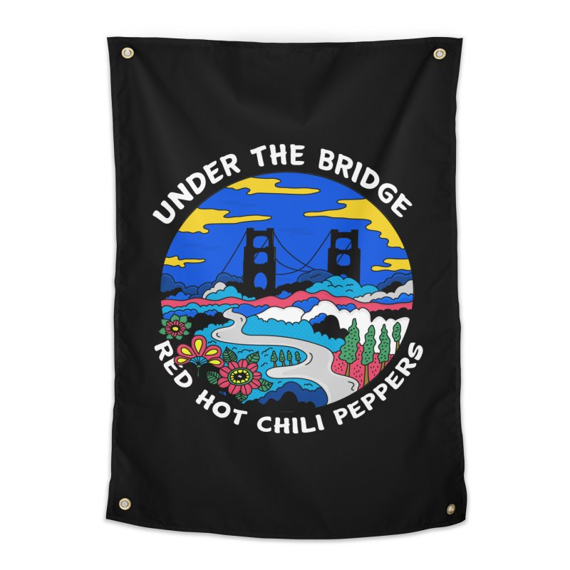 Under The Bridge Home Tapestry by darruda's Artist Shop