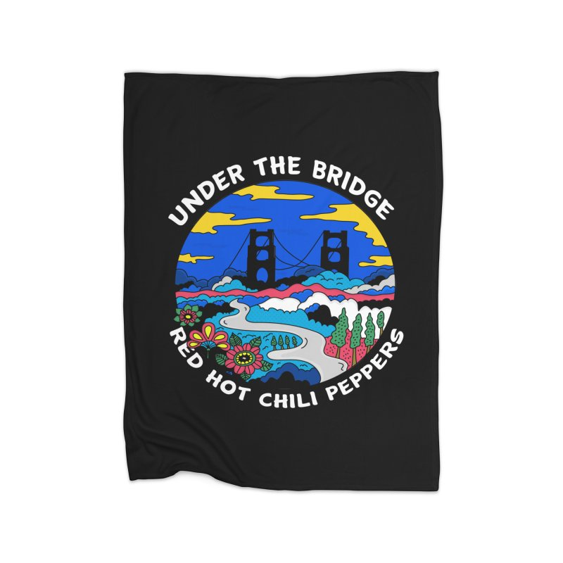 Under The Bridge Home Fleece Blanket Blanket by darruda's Artist Shop
